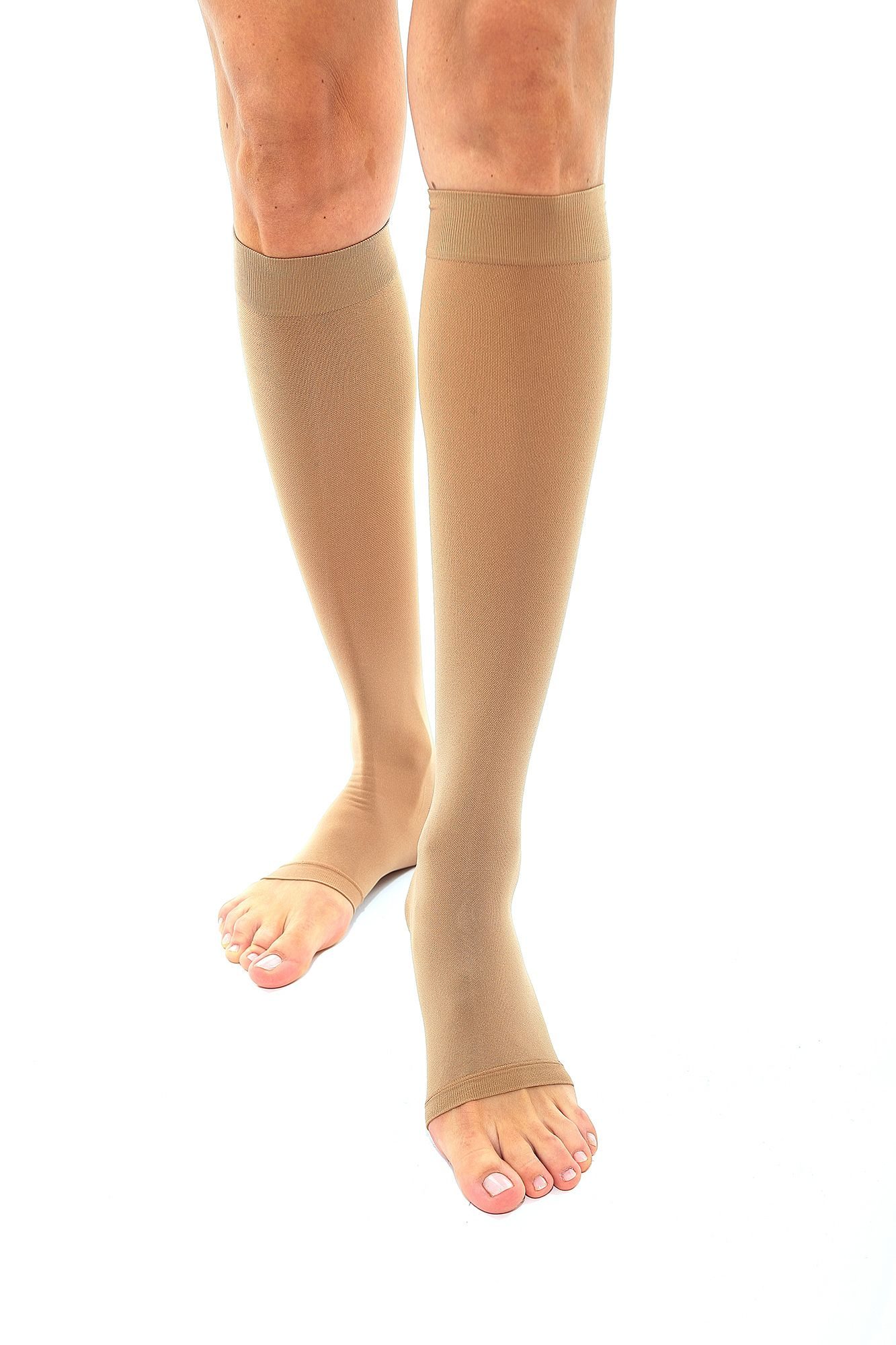 4ce3cdee425aa0 Credalast Nylon Class 3 Below Knee Compression Stockings - Daylong