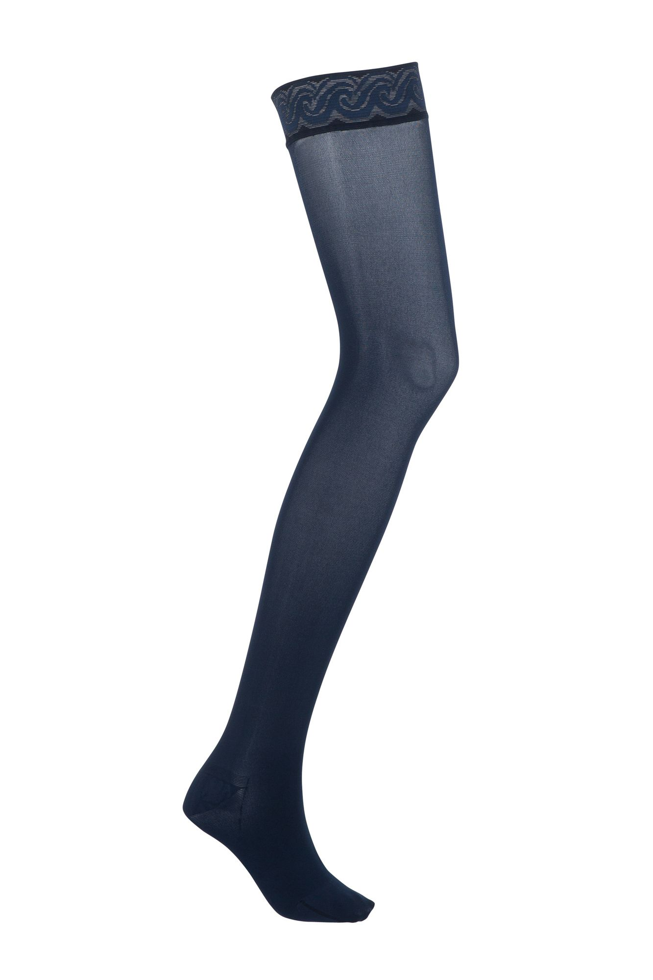 d665e4b59f5 JOBST® Opaque Class 2 Thigh Hold Up Stockings with Lace Silicone ...