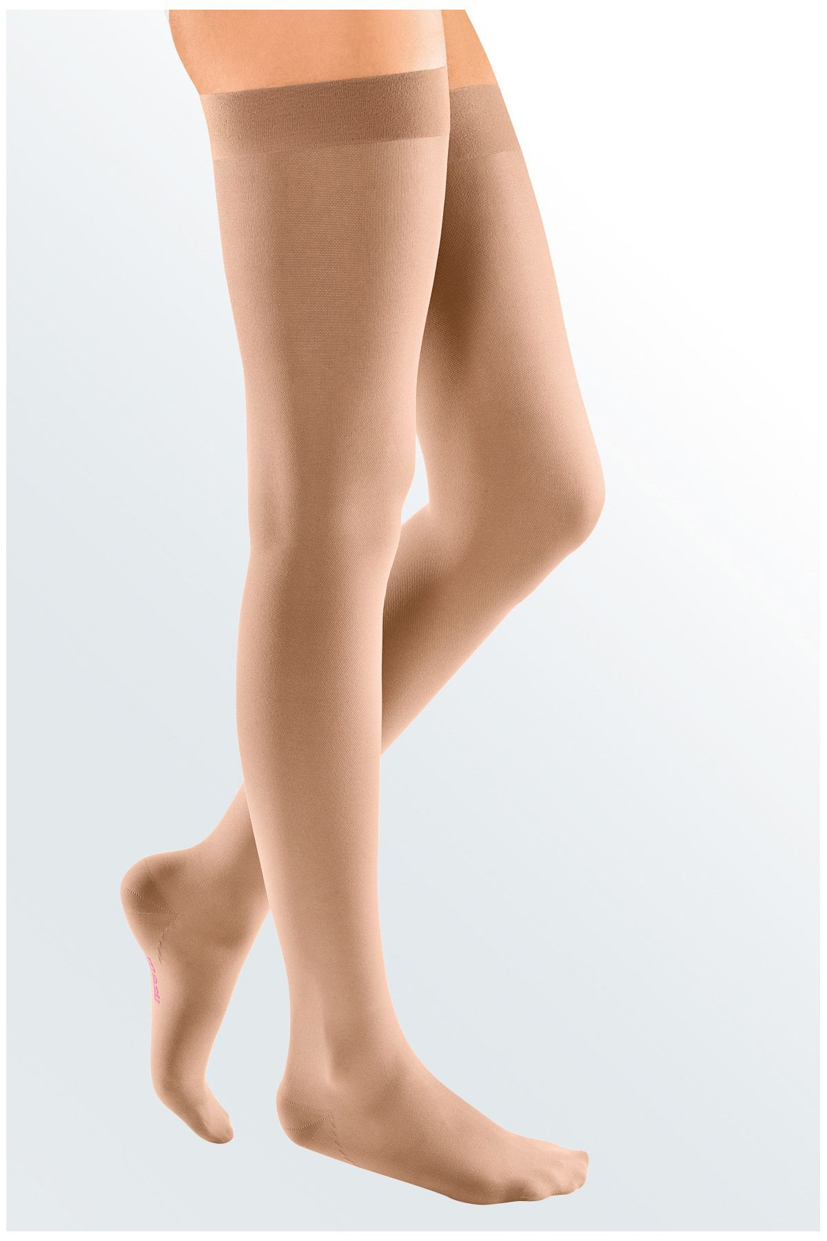 4ec9314830838e Mediven Elegance Class 1 Thigh Compression Stockings with Lace Topband