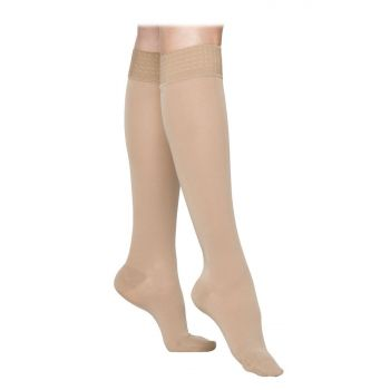 Style SemiTransparent Class 1 Calf Compression Stockings