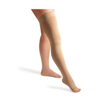 ActiLymph Class 3 Thigh Hold Up Stockings