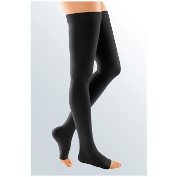 dbb8a1c03 Medi Duomed Soft Class 2 Thigh Hold Up Compression Stockings - Daylong