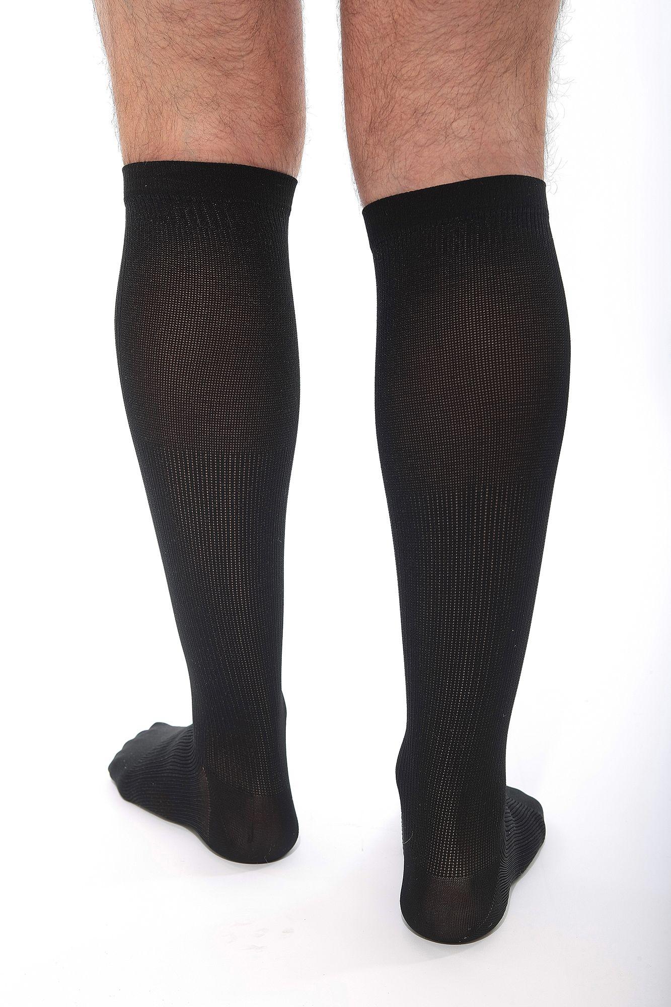venosan174 silverline mens compression socks 2030mmhg daylong