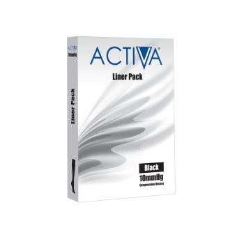 Activa Stocking Liners 3 Pack 10mmHg