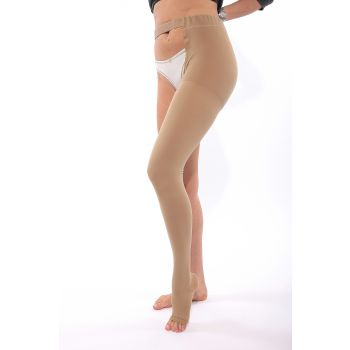 Credalast Nylon Class 2 Thigh with Waist Attachment Left