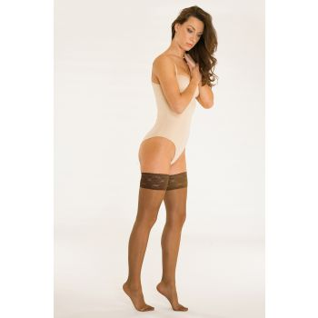 Solidea Marilyn 140 Sheer Thigh Hold-up Stockings