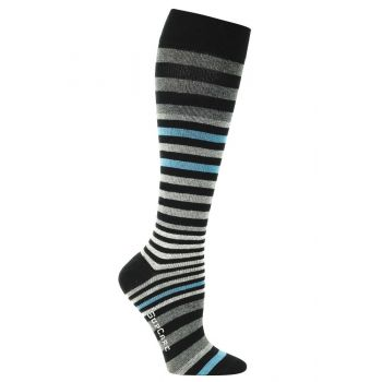 SupCare Mens Support Socks with Stripes 15-21mmHg